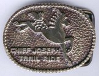 Chief Joseph Trail Ride Buckle