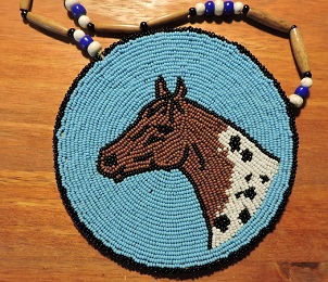 Appaloosa Medallion Necklace