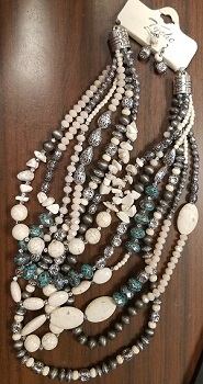 Natural Bead Necklace
